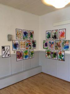 børnehave malerier