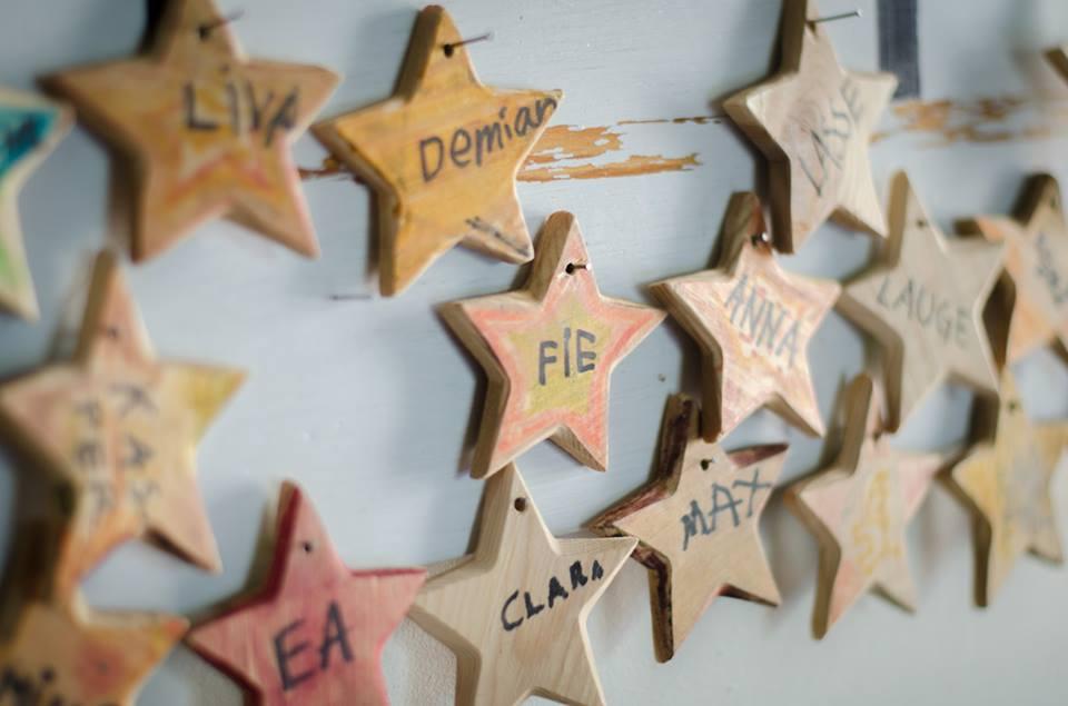 stjerner med navne